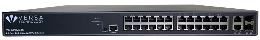 VX-GPU2626 PoE Switch