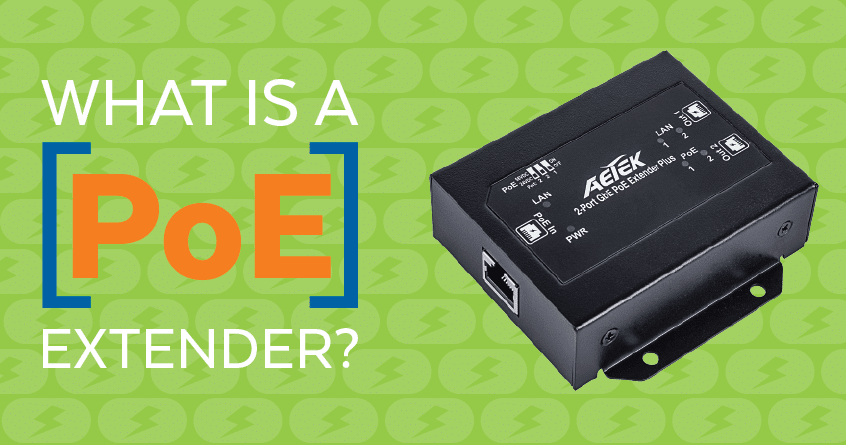 What is a PoE Extender?