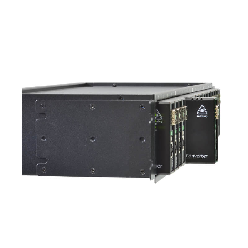 VX-CH1700AC 17-Slot Chassis for VX-VEB160G1 side